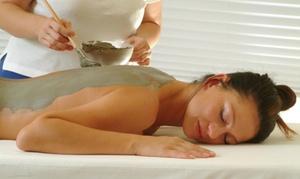 Ingresso alle terme con massaggio