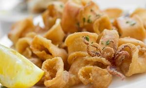 1 kg di frittura mista di pesce, dolce e vino per 2 persone all'Enoteca Gastronomica Manfredi (sconto fino a 62%)