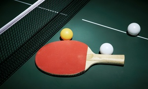 Lezioni di tennis da tavolo in varie sedi