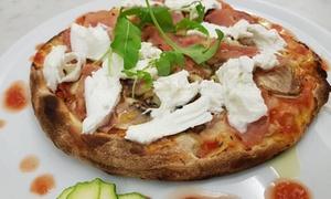 Menu pizza con antipasto, dolce e birra per 2 persone al Ristorante Carmantò (sconto fino a 60%)