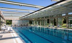 Accesso piscina ed area benessere