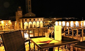 Menu di terra o di mare con vino per 2 persone al ristorante La Loggettina nel centro dell'Impruneta (sconto 58%)