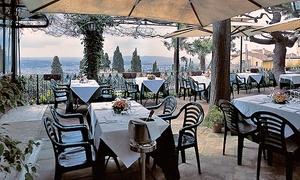 Cena con tris di primi e 1 kg di grigliata con vista panoramica su Firenze da Villa Aurora in piazza Mino a Fiesole