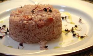 Menu di mare da 3 o 4 portate con calice di bollicine per 2 persone al ristorante Enotria (sconto fino a 50%)