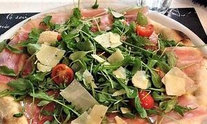Menu d'asporto con pizza a scelta e bibita al ristorante Rugantino, Empoli (sconto fino a 57%)