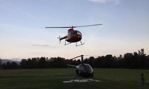 Volo di ambientamento in elicottero