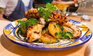 Cena gourmet alla carta al ristorante White Boccascena in Viale Europa