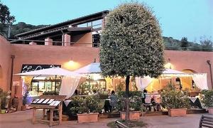 Menu di terra di 3 o 4 portate con calice di vino al Ristorante La Chicca, vicino a San Gimignano (sconto fino a 66%)