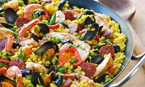 ⏰ Menu spagnolo con tapas, paella e vino al ristorante Santanera in Piazza delle Cure (sconto fino a 44%). Prenota&Vai!
