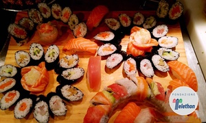 ⏰ Menu sushi All you can eat per 2 persone da Olshi Sushi (sconto fino a 32%). Prenota&Vai!