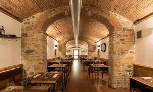 ⏰ Menu alla carta da 2 o 3 portate e vino al Ristorante Via della Fonderia (sconto fino a 68%). Prenota&Vai!