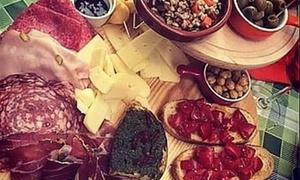 Degustazione con tagliere toscano o vegetariano e calici di vino al Gradisca 1973 (sconto fino a 51%)