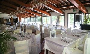 Menu di terra o mare più calici o bottiglie di vino per 2 o 4 persone alla Villa Vecchia Imperiale (sconto fino a 62%)