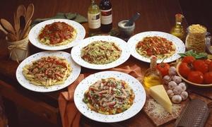 Menu dell'appennino con antipasto, primo, secondo, dolce e vino per 2 o 4 da Bottega Palazzina(sconto fino a 61%)