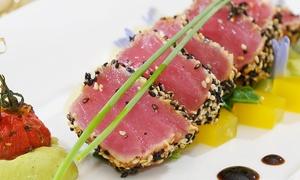 Menu di mare con dessert e calice di vino per 2 persone al Ristorante i'Boccabona (sconto fino a 57%)