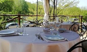 Menu gourmet fino a 4 portate con antipasto, dolce e vino a La Capannina sul Lago (sconto fino a 47%)