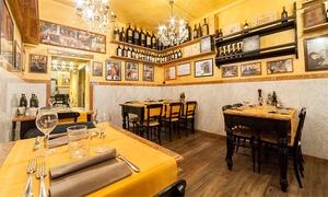 Trattoria Il Francescano: menu alla carta con dolce e calice di vino, zona piazza Santa Croce ⏰ Prenota&Vai!