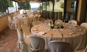 Menu di carne da 3 o 4 portate con calice di vino per 2 persone al ristorante La Limonaia (sconto fino a  47%)