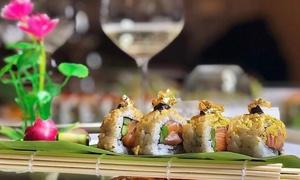 Box sushi experience da 30, 40 o 51 pezzi, offerto da Antico Caffè Delle Mura (sconto fino a 54%). D'asporto