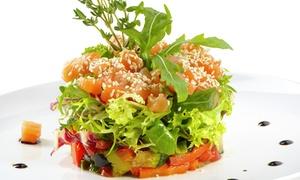 Menu con sfizio, piatto a scelta e patate offerto da Murales Bistrò (sconto fino a 37%). A domicilio o d'asporto