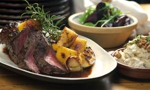 Menu di terra da 3 portate a scelta o 1,2 kg di bistecca con vino all'Osteria Il Pentolino (sconto fino a 68%)