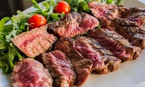 ⏰ Menu con antipasto, tagliata di manzo da 800 grammi, dolce e vino al locale Toscanello (sconto 52%). Prenota&Vai!