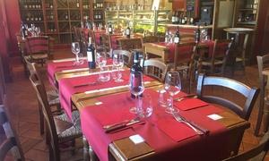 Menu con filetto di canguro, bisonte e pluma iberico con vini abbinati all'Enoteca Manfredi (sconto fino a 60%)