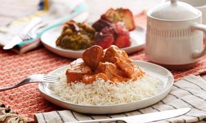 Menu degustazione indiano con birra per 2 persone al ristorante India Gate (sconto 48%)
