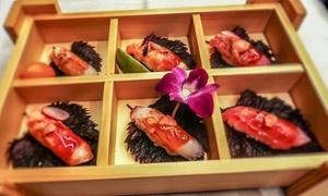 Menu giapponese con dolce e vino, per 2 persone, al ristorante Only Asian Fusion Restaurant (sconto fino a 53%)