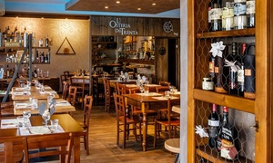 ⏰ Menu alla carta da 3 portate e vino per 2 o 4 persone all'Osteria Dei Trenta (sconto fino a 71%). Prenota&Vai!