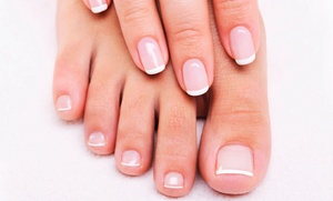 Manicure, pedicure e massaggio