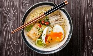 Menu tipico giapponese con piatti a scelta, ramen e acqua al ristorante Ramen Tei (sconto fino a 56%)