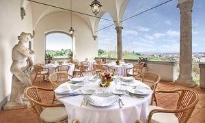 Menu panoramico in dimora storica rinascimentale al Conventino a Marignolle di Villa Tolomei. (sconto fino a 48%)