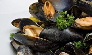 Menu di pesce da 3 portate e calice di vino per 2 persone al ristorante Portico 91 (sconto fino a 48%)