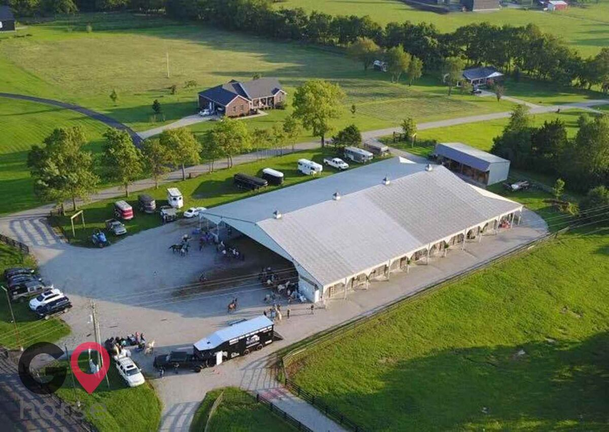 The Flying A Arena Horse stables in Wilmore KY 1