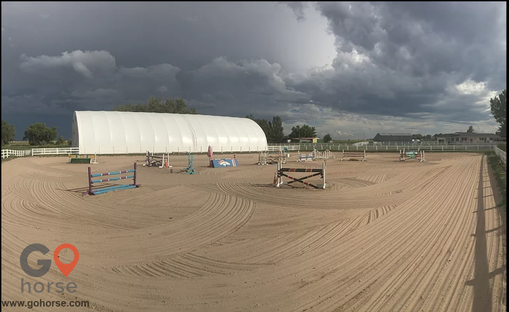 Cascade Farms Horse stables in Longmont CO 2