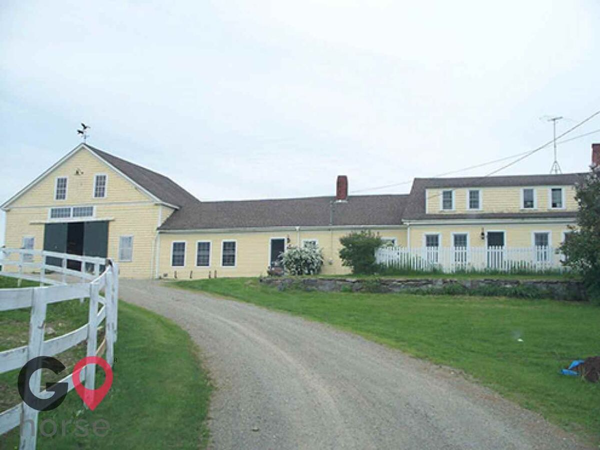 Goose River Farm Horse stables in Swanville ME 1