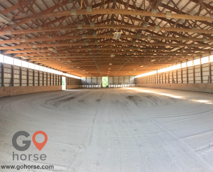 Double G Ranch Horse stables in North Salem IN 4