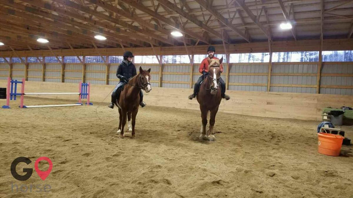 Hideaway Acres Horse stables in Cumberland ME 1