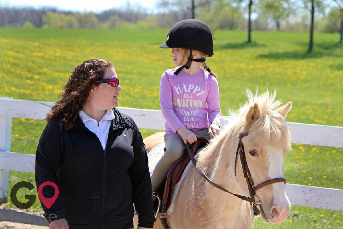 Cross Winds Farm Horse stables in Marengo IL 1