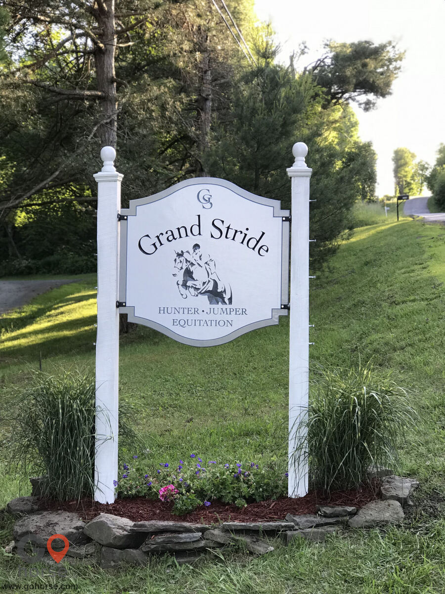 Grand Stride Horse stables in Monroe PA 1