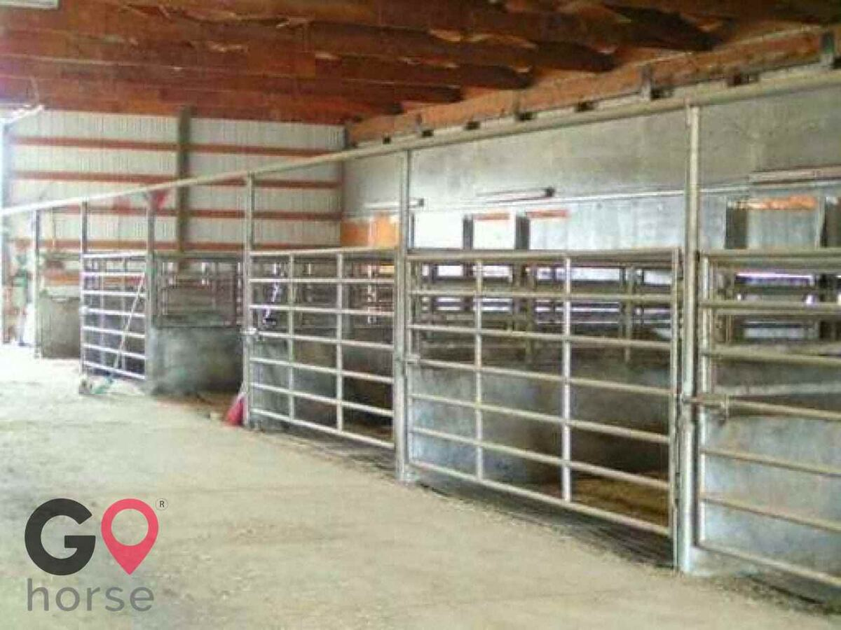 Equine Motel Box T Ranch Horse Stables In Billings Montana
