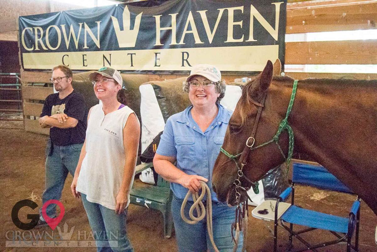Crown Haven Center Horse stables in Russiaville IN 34