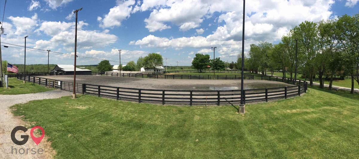 The Flying A Arena Horse stables in Wilmore KY 12