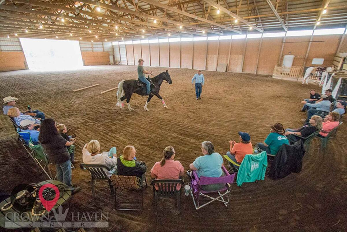 Crown Haven Center Horse stables in Russiaville IN 14