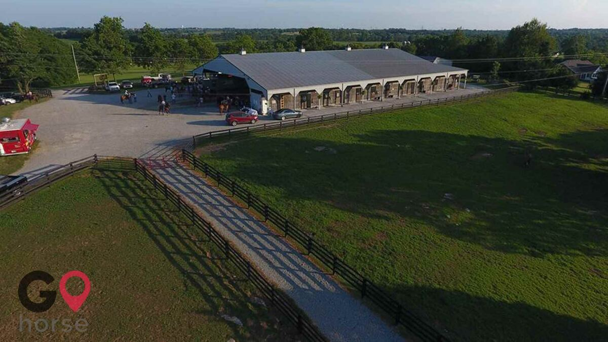 The Flying A Arena Horse stables in Wilmore KY 4