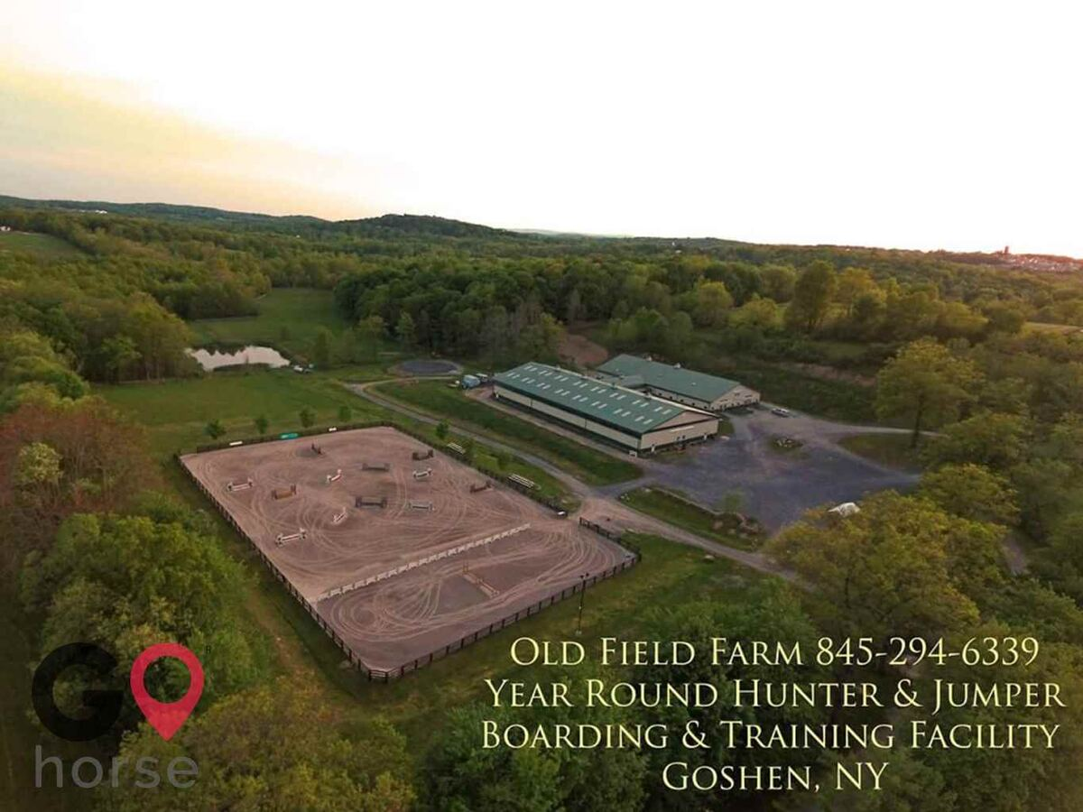 Old Field Farm Horse stables in Goshen NY 2