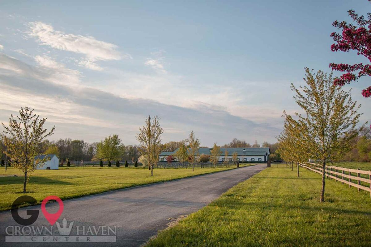 Crown Haven Center Horse stables in Russiaville IN 3