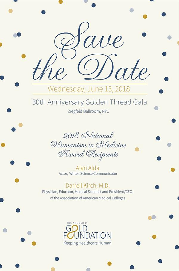 Save the Date (June 30, 2018) for the 30th Anniversary Gala