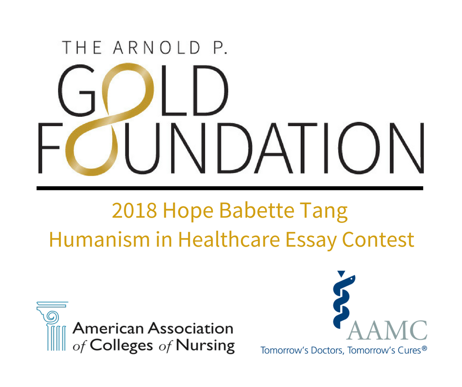 Gold Foundations Humanism In Healthcare Essay Contest Expands To  Hopebabettetanghumanisminhealthcareessaycontestpng